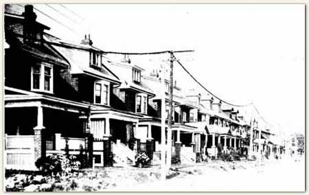 Lauder Ave. in the 1920s.