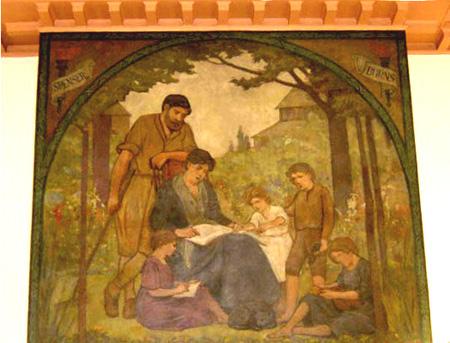 Dufferin St. Clair Library Mural